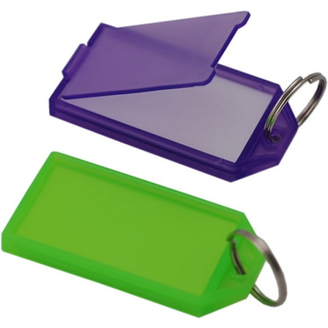 KLICK TAGS LARGE - ASSORTED COLOURS (50 BOXED)