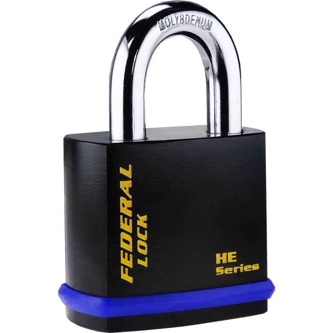 FEDERAL HE PADLOCKS FOR HALF EURO CYLINDER, 406HE - 601HE, 7 SIZES