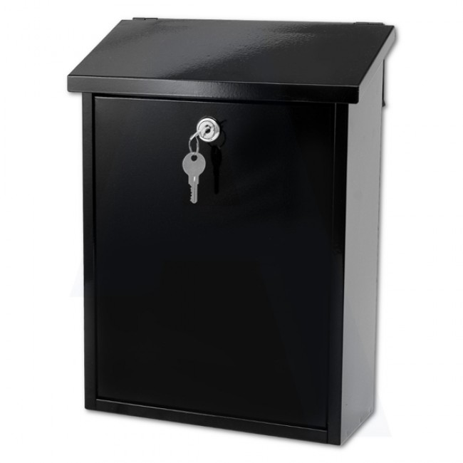 G2 LIFFEY POST BOX BLACK