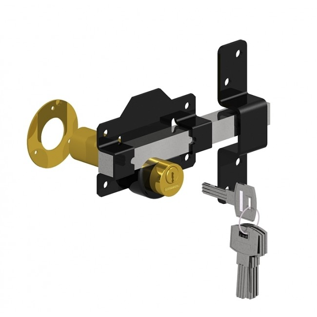 LONG THROW GATE LOCK