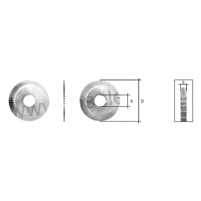 MORTICE CUTTER (SIDE & FACE / MC002 or CW1119) FOR MANCUNA / RST MACHINE