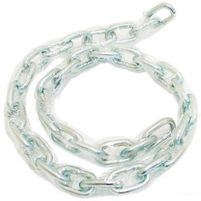 ZINC PLATED CLEAR SLEEVED CHAINS