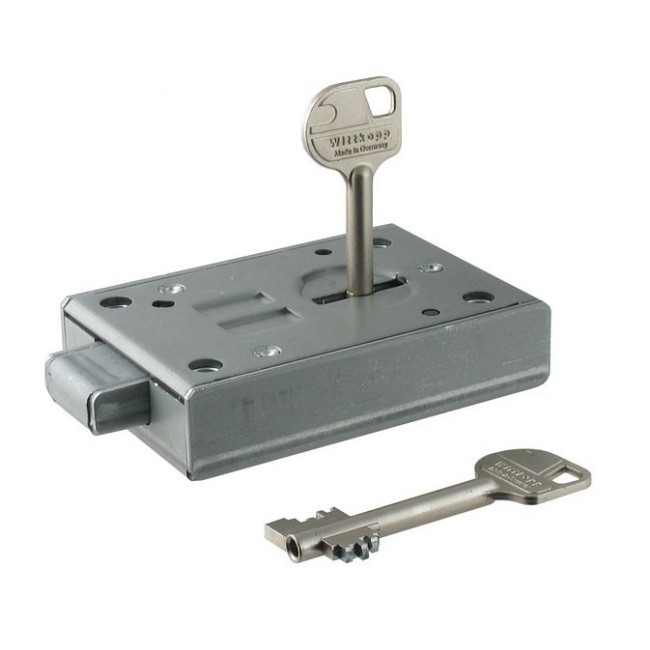 WITTKOPP 2618 8 LEVER SAFE LOCK (SUPPLIED WITH 95MM KEY)