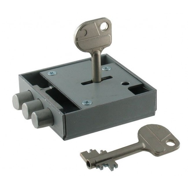 WITTKOPP (CAWI) 1387 7 LEVER SAFE LOCK (SUPPLIED WITH 55MM KEY) T02871