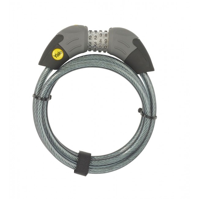 COMBINATION CABLE BIKE LOCK 1800MM X 10MM